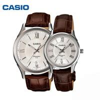 卡西欧LTH/MTH-1051L复古男女情侣手表经典指针对表 石英表