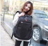 新款瑞士军刀双肩包 14寸15.6寸电脑包男时尚背包女士韩版