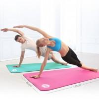 瑜伽垫加宽80CM运动垫无味加厚健身垫初学者防滑愈加毯子