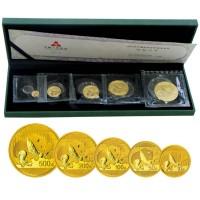 2016年熊猫金币套装 熊猫5金 5枚金币套装 熊猫金币套装