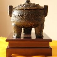 云南茶厂直销普洱茶 茶罐工艺茶雕摆件 诚信鼎高档礼品茶批发