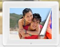 炫本HD866 数码相框 8寸 高清 触摸 电子相册 支持1080P 3D播放