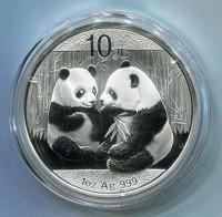 2009熊猫银币1盎司 熊猫银币2009 1盎司 1盎司熊猫银币2009