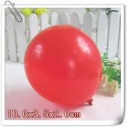 厂家直批可印制logo圆形红色广告气球