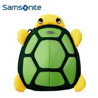 新秀丽/sammies 专柜正品儿童双肩包 U22卡通乌龟旅行包学生书包