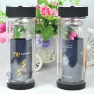 双层玻璃杯精品水晶杯创意水杯批发定做广告杯子礼品杯印字logo杯