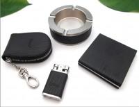 商务礼品套装 打火机烟灰缸钥匙包烟盒 客户礼品定制会议礼品