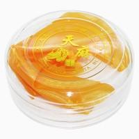 可定制LOGO 11.5CM 圆形 亚克力 天麻 水晶包装盒