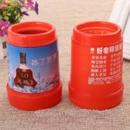 环保塑料筷子筒 广告礼品筷子筒 促销筷子盒 pp筷子筒