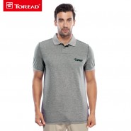 探路者春夏新款男士速干吸湿透气POLO衫短袖T恤