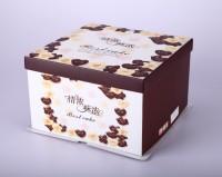 情浓味浓 方形蛋糕盒 生日烘焙甜点包装盒批发可印logo