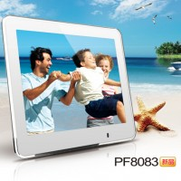 Gadmei/佳的美 PF8083超薄8寸电子相册数码相框台历礼品定制LOGO
