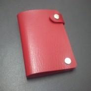 银行卡包 皮革 可印广告  10个卡位 卡套 身份证卡包