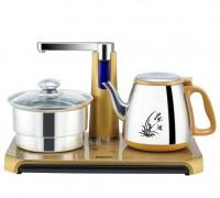 自动上水壶电热水壶套装 304不锈钢加水抽水烧水煮茶器茶艺炉包邮