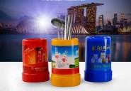 供应环保塑料筷子筒 广告礼品筷子筒促销筷子 pp筷子筒