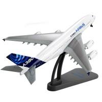 1:400威龙客机空客a380飞机合金成品静态金属摆件收藏礼品