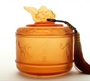 高档商务礼品 琉璃茶叶罐 家居摆件生日礼品实用 可送领导送客户