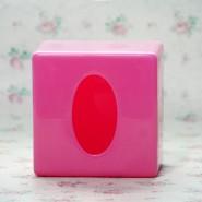 方形纸巾筒抽纸盒抽纸桶 塑料纸巾盒 塑料纸巾筒 可印LOGO