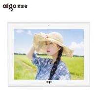 aigo/爱国者云数码相框智能10寸电子相册16G锂电触摸屏微信传照片