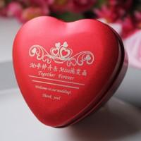 个性定制名字婚期logo马口铁马口铁喜糖盒子宝宝满月铁盒
