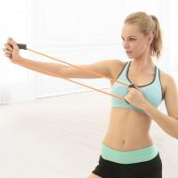 健身器材家用运动减肥瘦身多功能8字拉力器o型拉力绳皮筋乳胶男女
