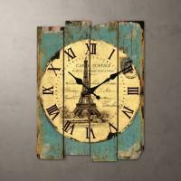 欧式复古创意艺术个性时尚钟表静音挂钟客厅时钟铁