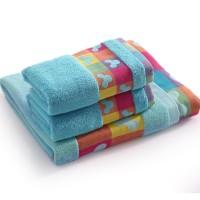 毛巾 浴巾 套装 三件套 米奇头 情侣 回礼 福利毛巾  可配 礼盒
