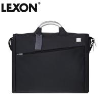 正品法国乐上LEXON横版男士14寸单肩公文电脑包文件包-LN323