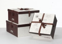CAKE方形蛋糕盒 西点盒 三体蛋糕盒方盒 蛋糕盒批发定做可印logo