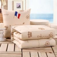 抱枕被子两用办公室午休靠垫被汽车用空调被可爱沙发抱枕特价包邮