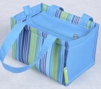 牛津布便当包 方底底纹包 收纳袋购物袋 促销展会礼品 可定做LOGO