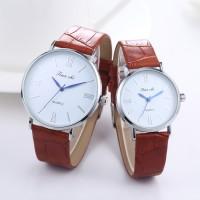 超薄情侣皮带手表 时尚腕表男女学生韩版简约 毕业礼物 背面刻字