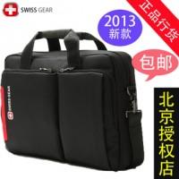 正品瑞士军刀笔记本包 电脑包男 14寸15.6寸手提包 单肩包 韩版