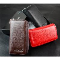 头层牛皮钥匙包 最爆款卡包 可以定制logo  礼促销品