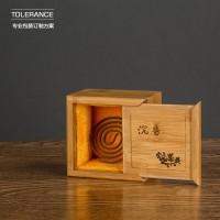定制  瓷器包装盒定做 沉香礼品盒定制 竹盒 玉器包装盒 高档礼品盒定做