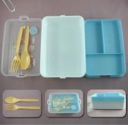 批发保温饭盒 塑料广告饭盒 礼品饭盒定制 方形饭盒套装 印LOGO