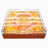 透明亚克力仿红木喷漆天然玛咖通用礼盒包装盒可定制logo包装盒