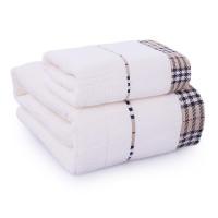 浴巾纯棉套装1毛巾+1浴巾加大加厚男女情侣成人宾馆酒店可选礼盒