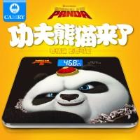 【正版授权】香山功夫熊猫体重秤成人健康电子称重家用精准人体秤