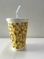 供应现货批发一次性豆浆杯带盖 350ML通用版 全国包邮 可定制