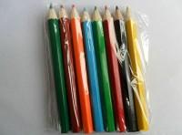 低价供应木质彩色铅笔 高档型广告铅笔 酒店会议铅笔定制