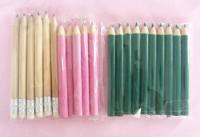 厂家直销 木质铅笔定制 创意迷你木质卡通铅笔 彩色铅笔套装